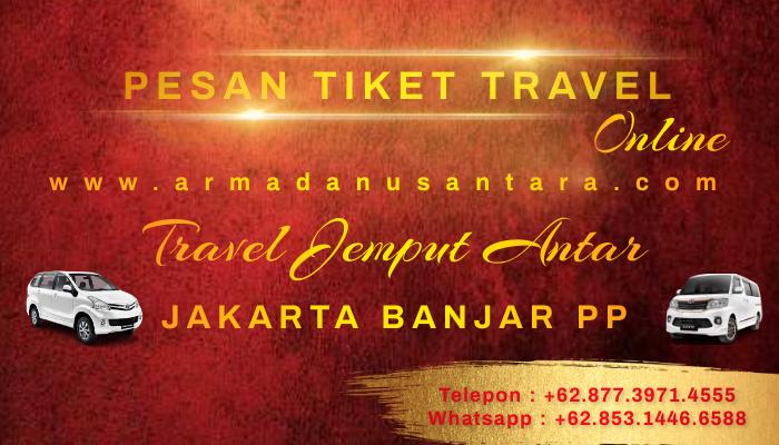 Pemesanan Travel Jakarta Banjar PP