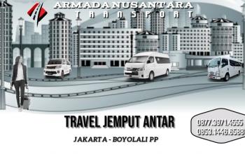 Pemesanan Tiket Travel Jakarta Boyolali PP