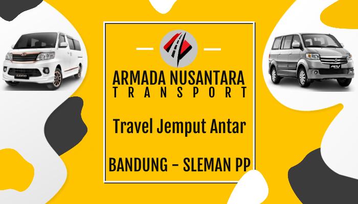 Pemesanan Tiket Travel Bandung Sleman Jogja
